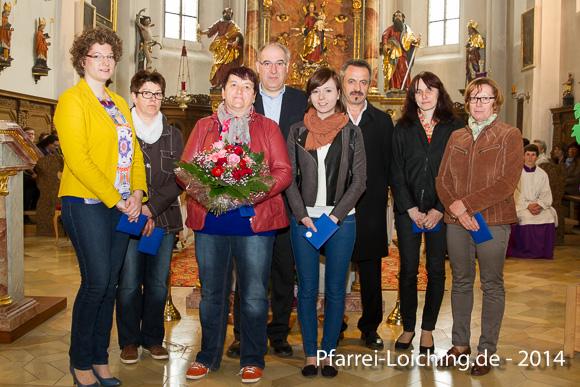 2014-04-06 Verabschiedete Pfarrgemeinderatsmitglieder