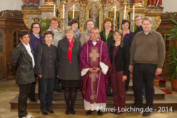 2014-04-06 Neu gewählter Pfarrgemeinderat