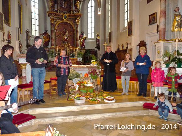 Kirche für Kinder: Kinder feiern Erntedank Foto: Daniela Biendl