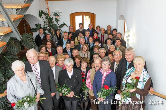 Gruppenbild Ehejubiläum 12.10.2014 Foto: Andrea Karpfinger