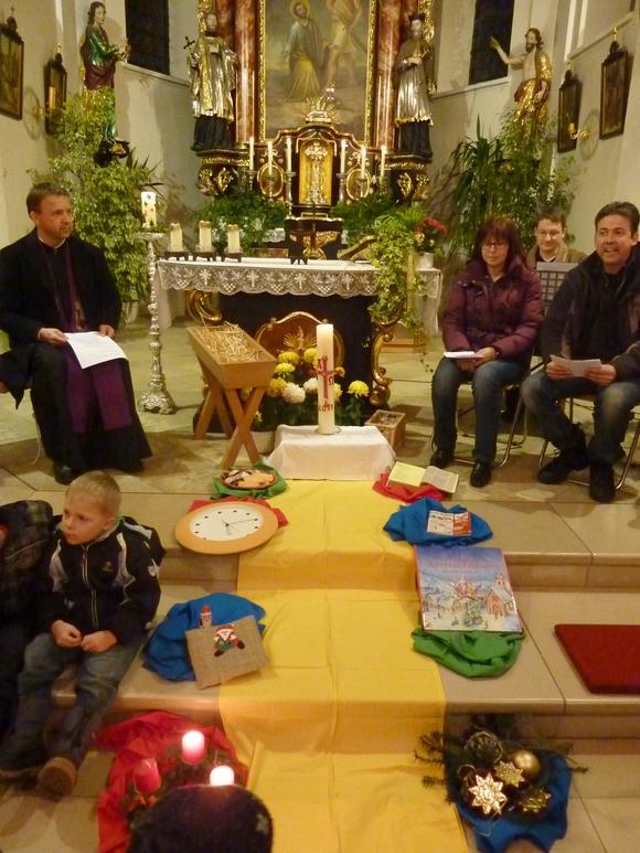 Kirche für Kinder im Dezember 2011 in Wendelskirchen